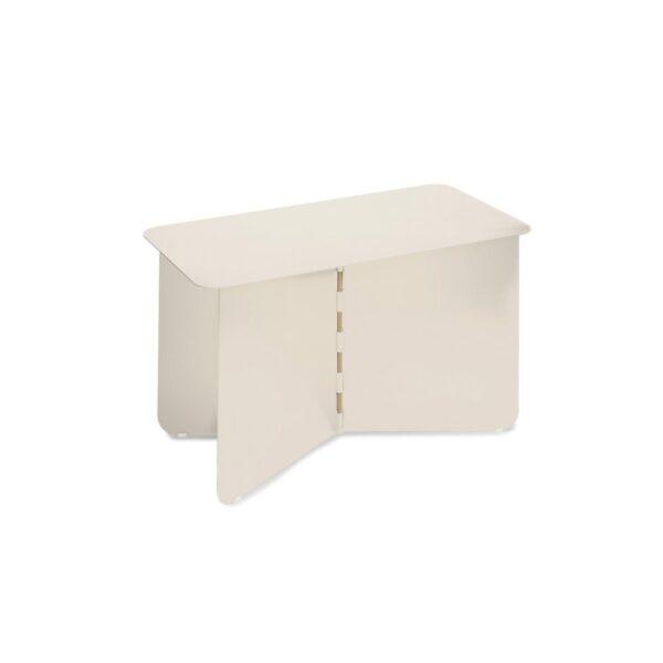hinge large creme puik design tykky meubel metaal bijzettafel side table beistelltisch