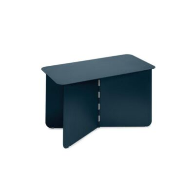puik design hinge large darkblue blauw blau bijzettafel salontafel side table beistelltisch tykky meubels metaal