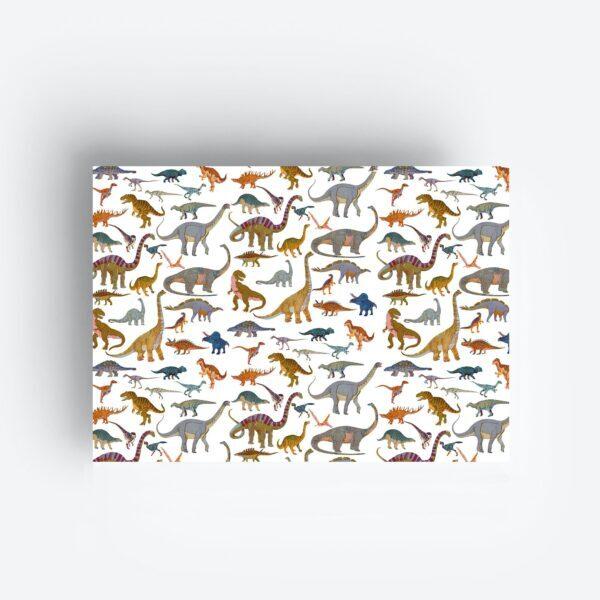 Inpakpapier Gift Wrap Dinos