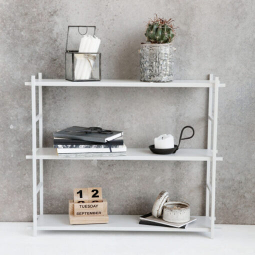 Shelf Simple grey grijs grau house doctor wandrek wandmeubel opbergmeubel regal stellingkast boekenkast house doctor tykky