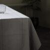 Irra tafelkleed tischtuch tischdecke table cloth 140 x 250 cm grijs grey grau kariert house doctor society of lifestyle tykky keukenaccessoires kitchen accessories textiel
