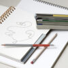 Potloden set van 6 Pencil Various Multi house doctor society of lifestyle tykky stationary products