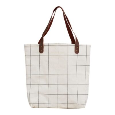Tas shopper tasche tote bag squares house doctor society of lifestyle tykky fashion