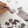 puzzel puzzle gardsutsikten 1000 stuks tykky play spelen spellen familie plezier fine little day