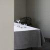 house doctor society of lifestyle tafelkleed tischtuch tischdecke table cloth 140 x 250 cm grijs grey grau kariert tykky keukenaccessoires kitchen accessories textiel