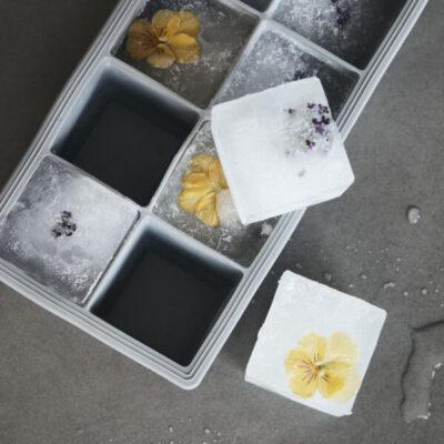 ijsklontjes vorm crystal eiswürfelform ice cube tray House doctor tykky scandinavische woonaccessoires