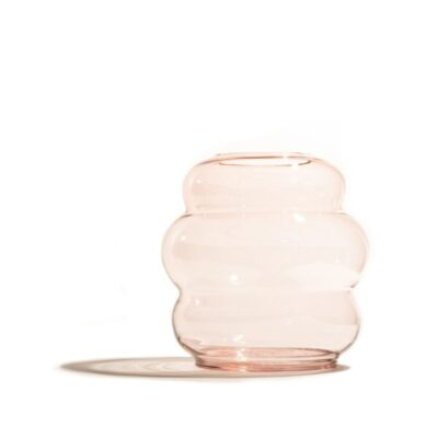 muse vase m clear copper fundamental berlin tykky scandinavische woonaccessoires