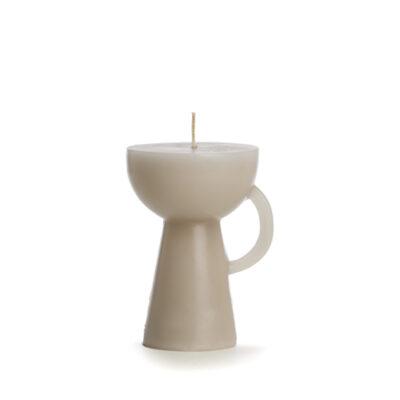 kaars kerze candle figuur sculpture cup linnen rustik lys tykky scandinavische woonaccessoires