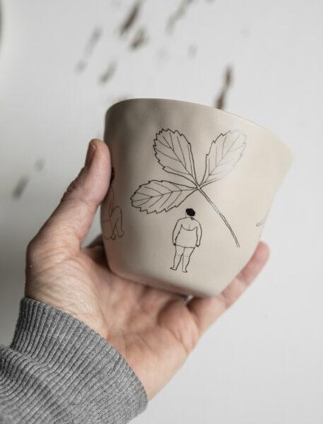 saltholmen cup mok beker beige finelittleday tykky
