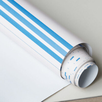 inpakpapier gift wrapping stripes pink blue geschenkpapier monograph society of lifestyle tykky stationary producten