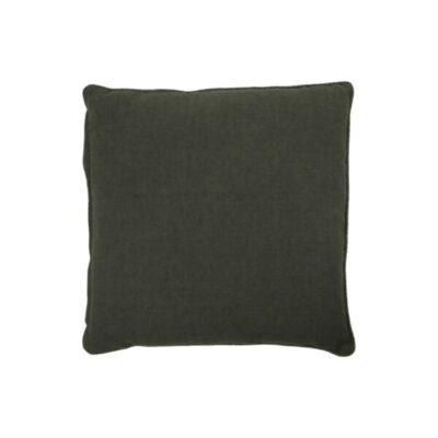 kussenhoes 50 x 50 cm sai dark green donkergroen cushion cover kissenbezug house doctor society of lifestyle tykky nordic design