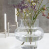 house doctor vase vaas forms low clear society of lifestyle tykky scandinaviische woonaccessoires