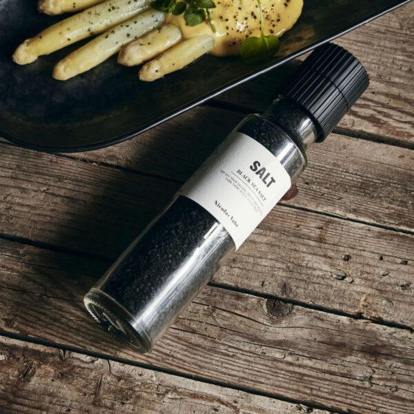 Nicolas Vahe Salt Black Zout Salz Society of Lifestyle Tykky cooking accessories gift ideas geschenkideen