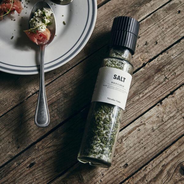 Nicolas Vahe Salt Wild Garlic Zout Salz Society of Lifestyle Tykky cooking accessories gift ideas geschenkideen