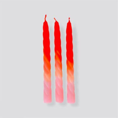 pink stories shades of peach kaarsen candles kerzen tykkt cadeau ideeen